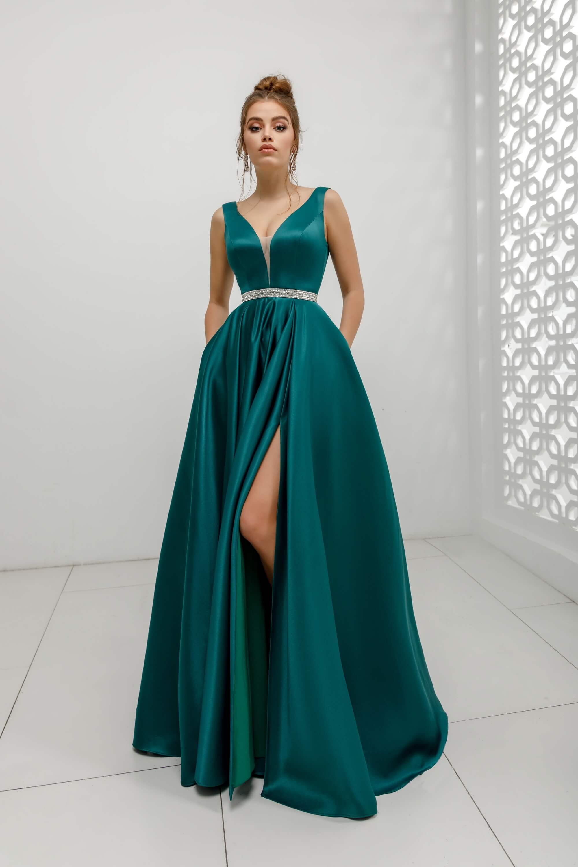 Официалана рокля Green
