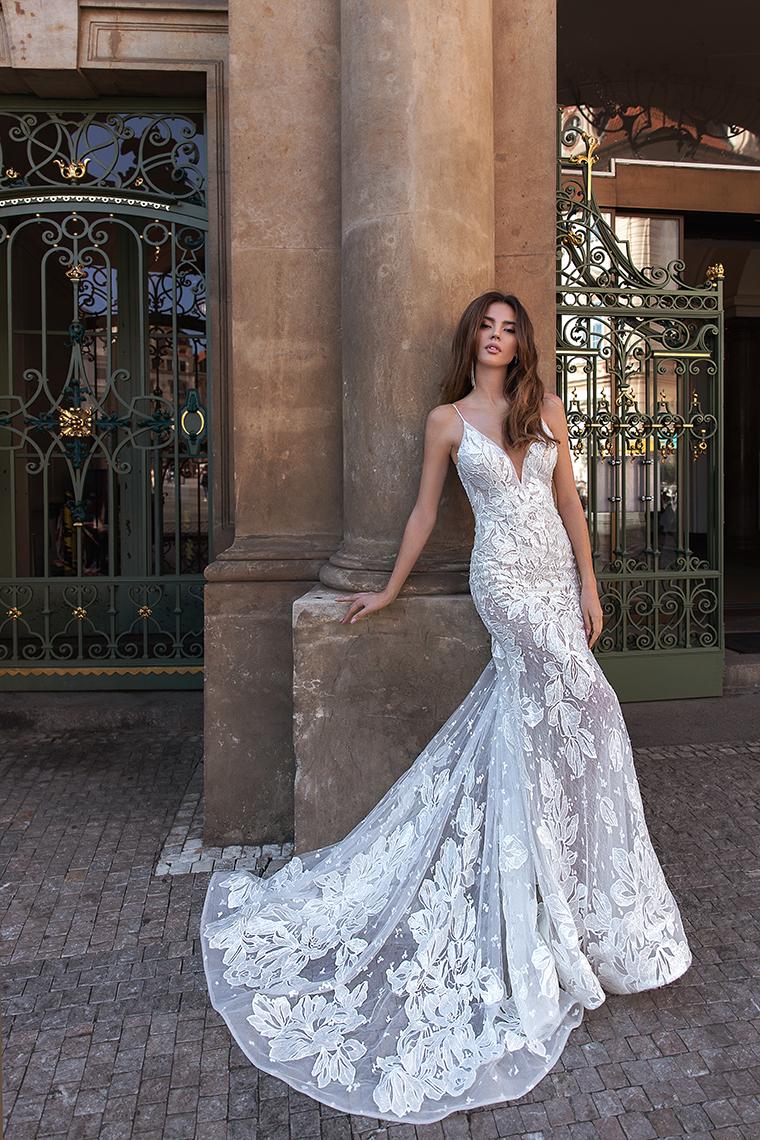 Висша мода булчинска рокля Franceska