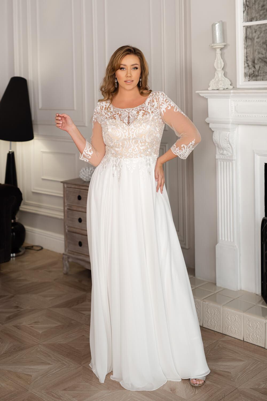 Plus size рокля Maya -2