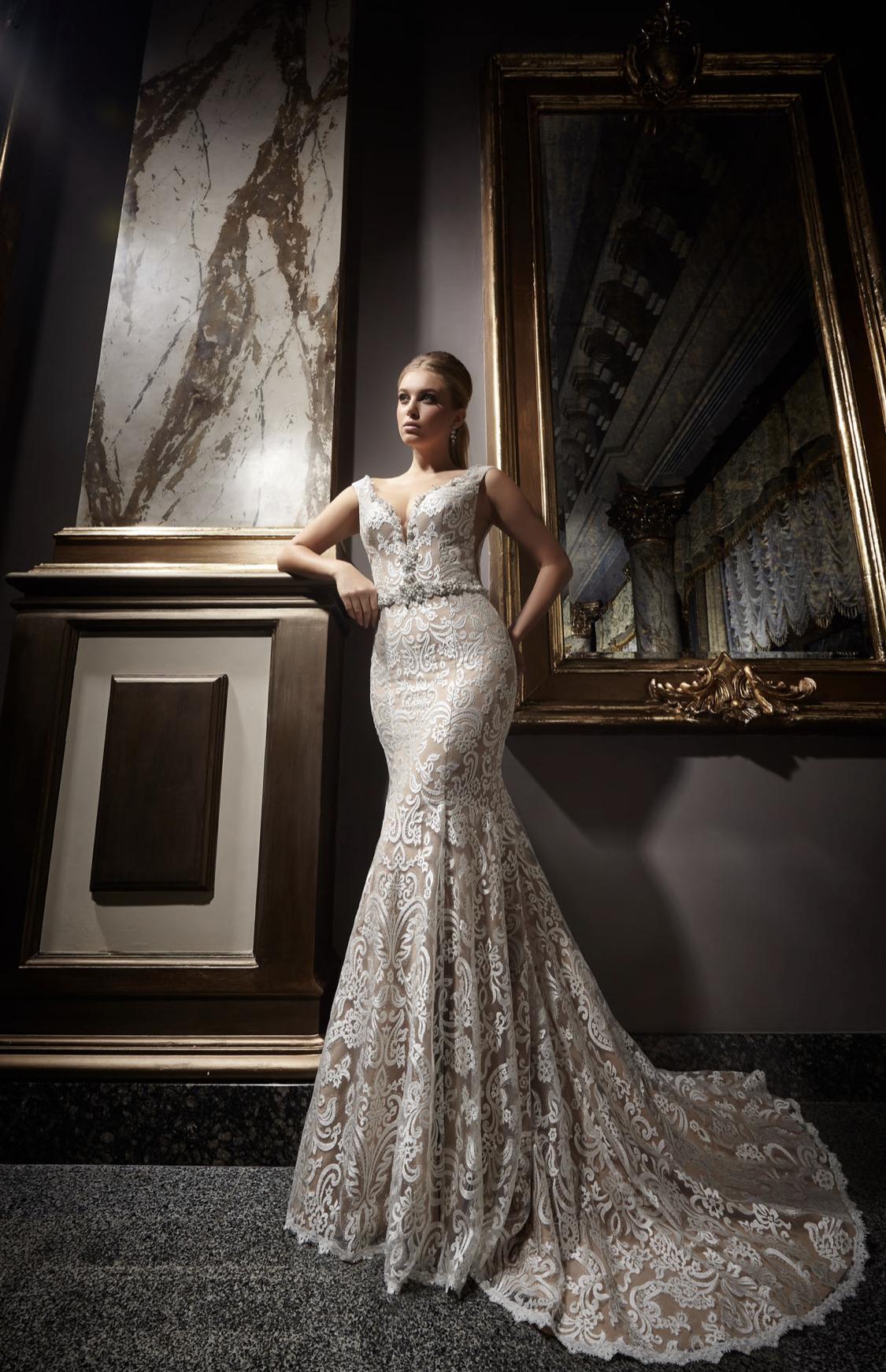 Висша мода булчинска рокля Kadir
