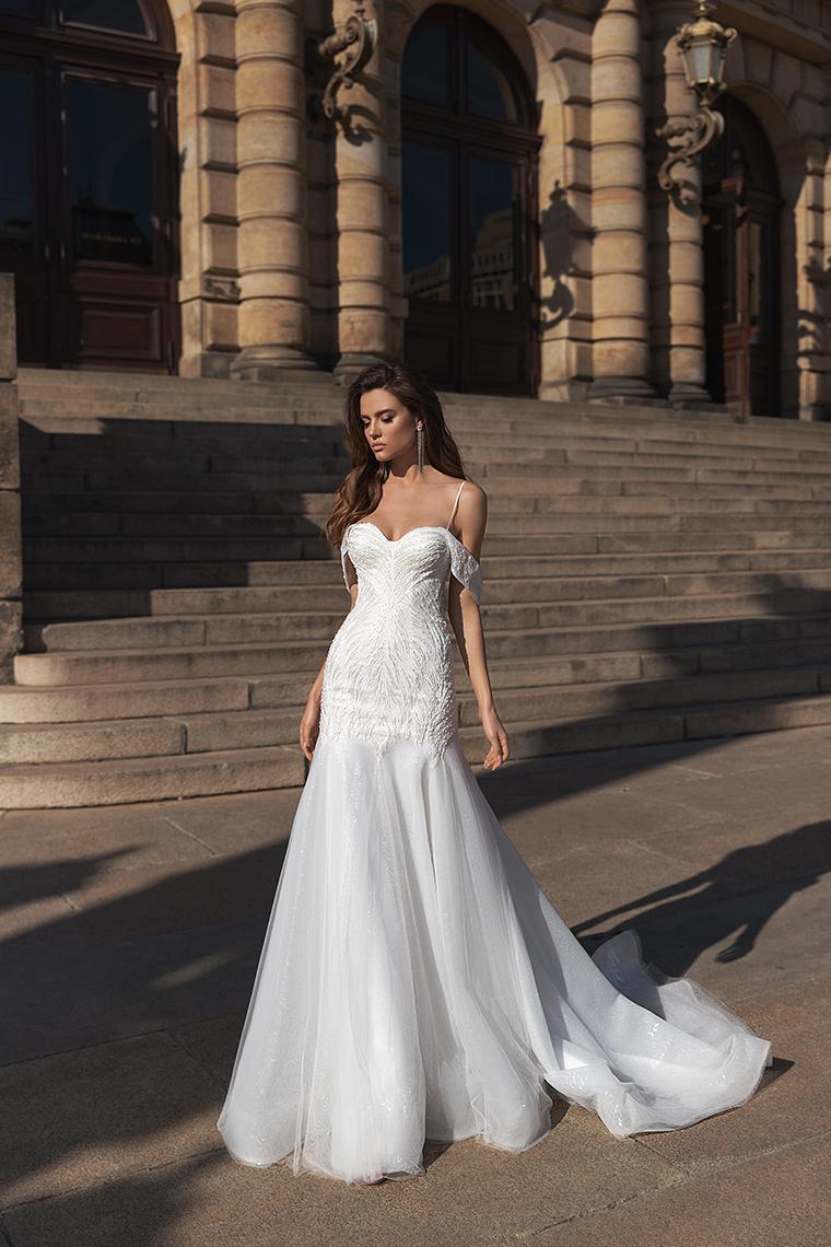 Висша мода булчинска рокля Lucrecia