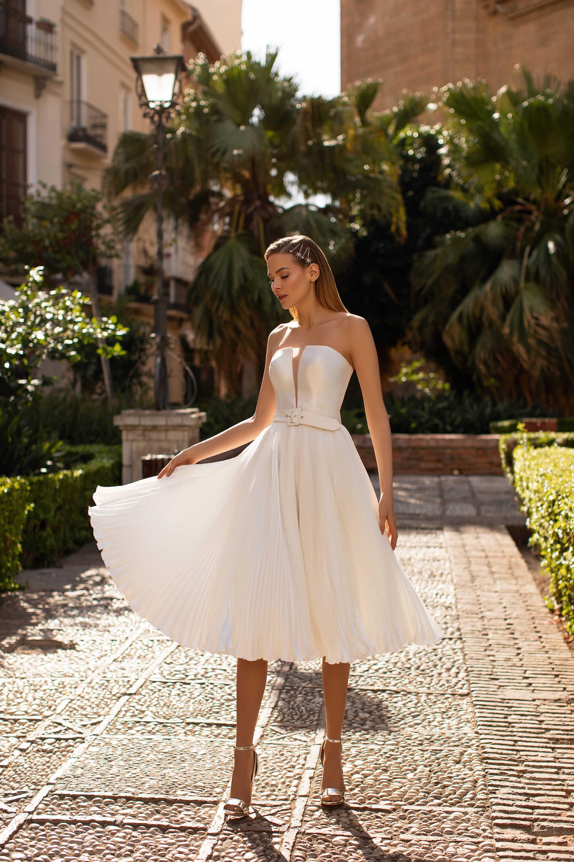 Къса булчинска рокля Clementina