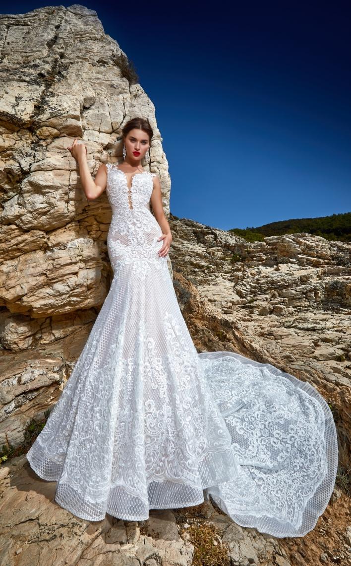 Висша мода булчинска рокля Diva
