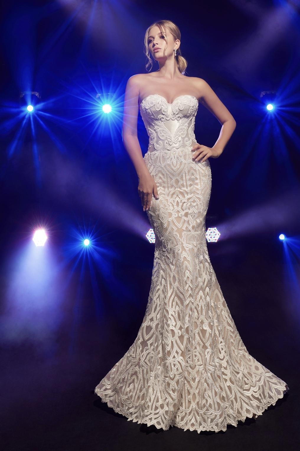 Висша мода булчинска рокля Babby