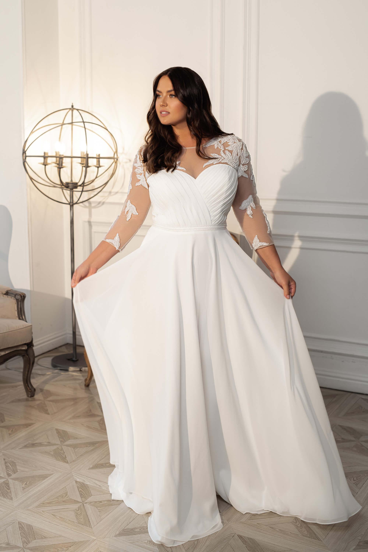 Plus size рокля Maya -3