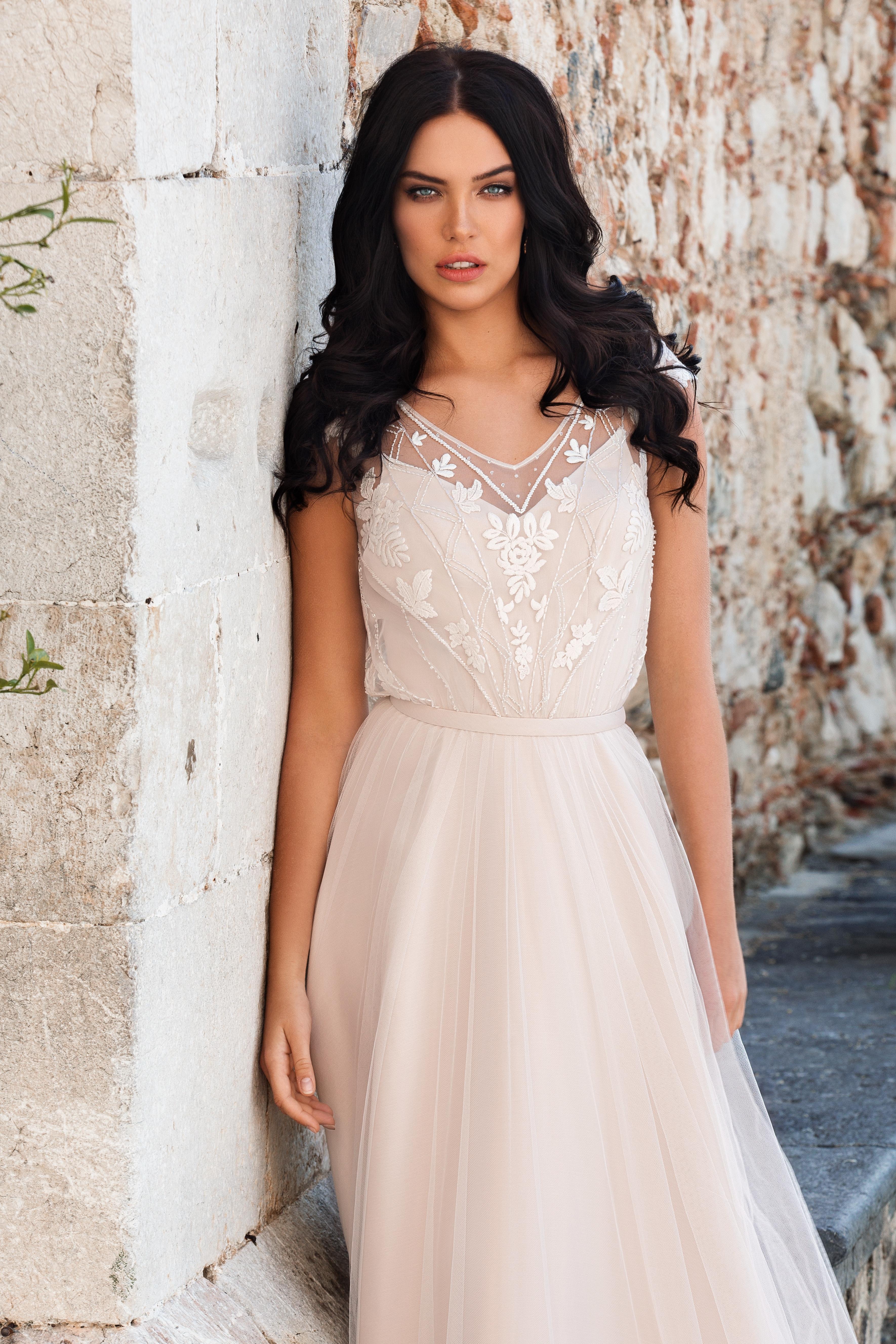 Булчинска рокля Santiа