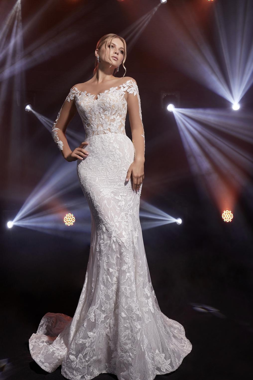 Висша мода булчинска рокля Megane