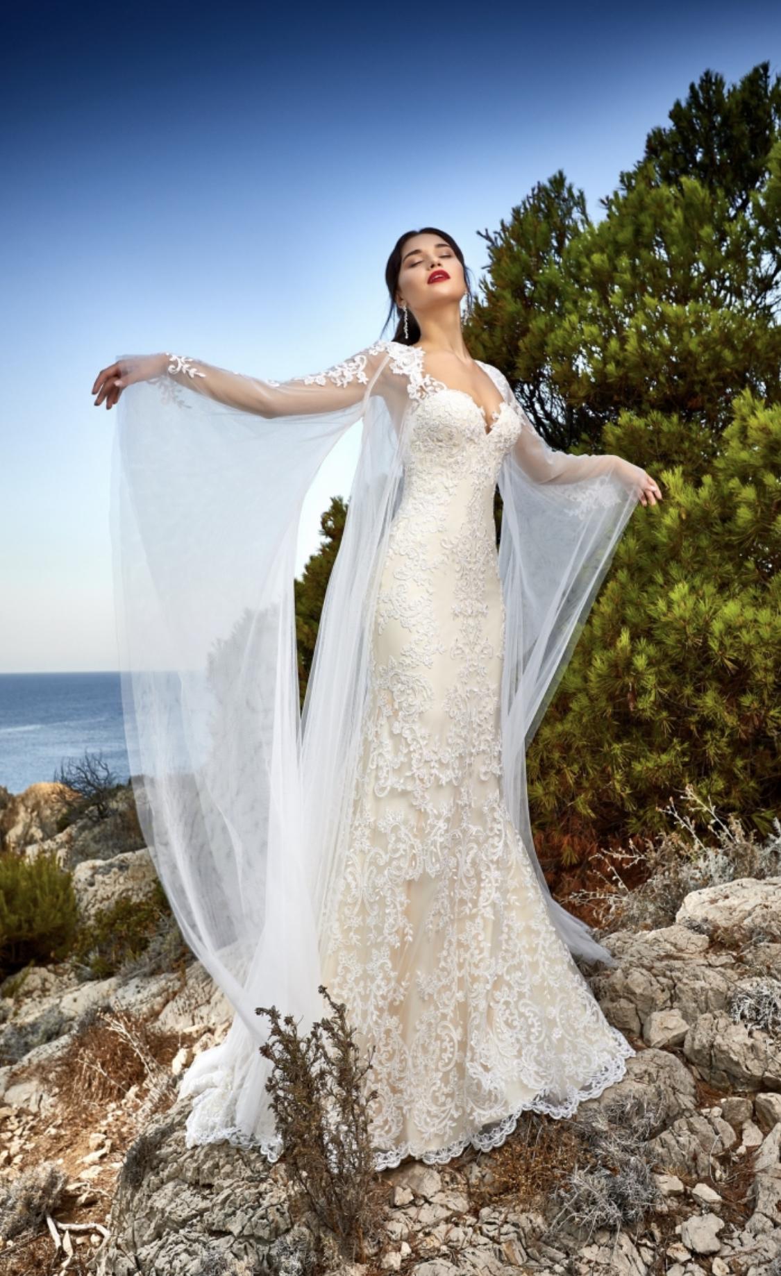 Висша мода булчинска рокля Sola