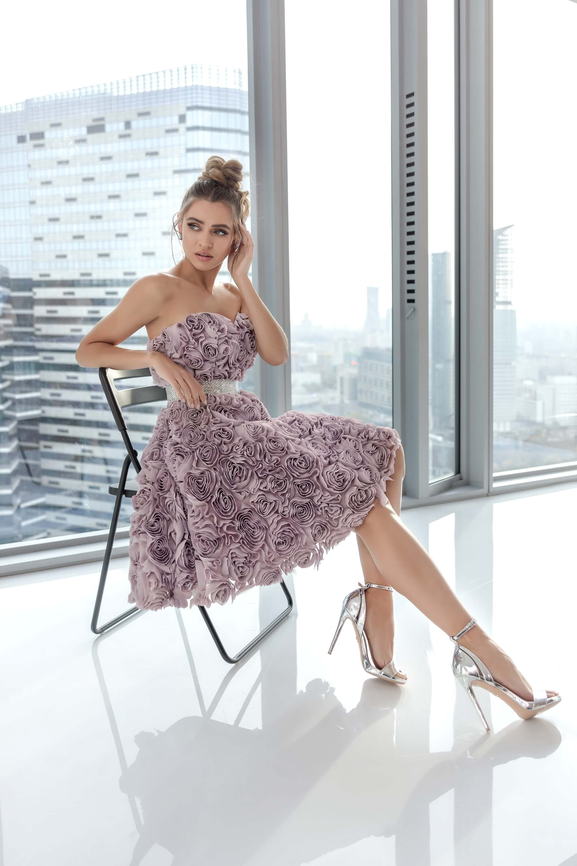 Къса официална рокля by Nora Naviano