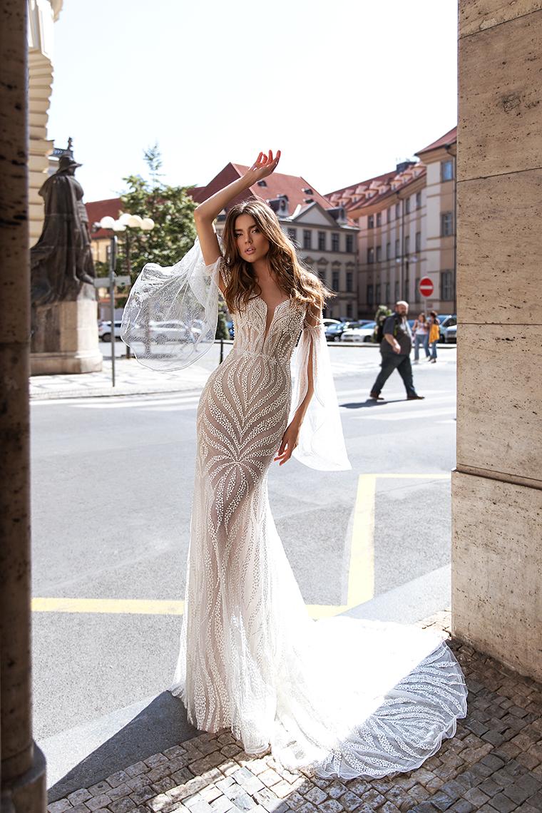Висша мода булчинска рокля Freya